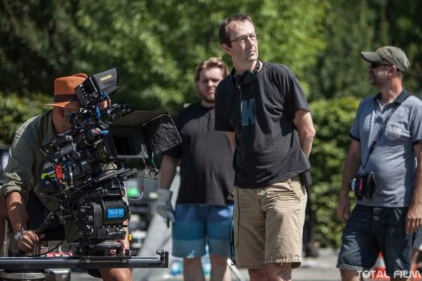 Petr Zelenka na natáčení Ztraceni v Mnichově