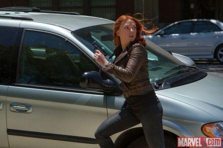 Captain America: Winter soldier (foto: Marvel) - Scarlett Johansson