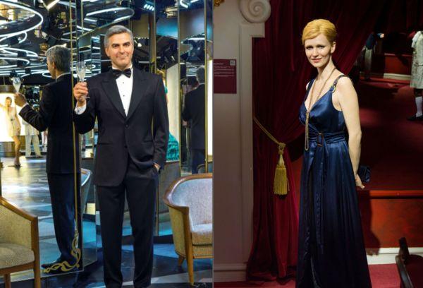 Voskoví George Clooney a Anna Geislerová