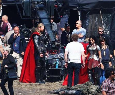Z natáčení Thor: Temný svět
