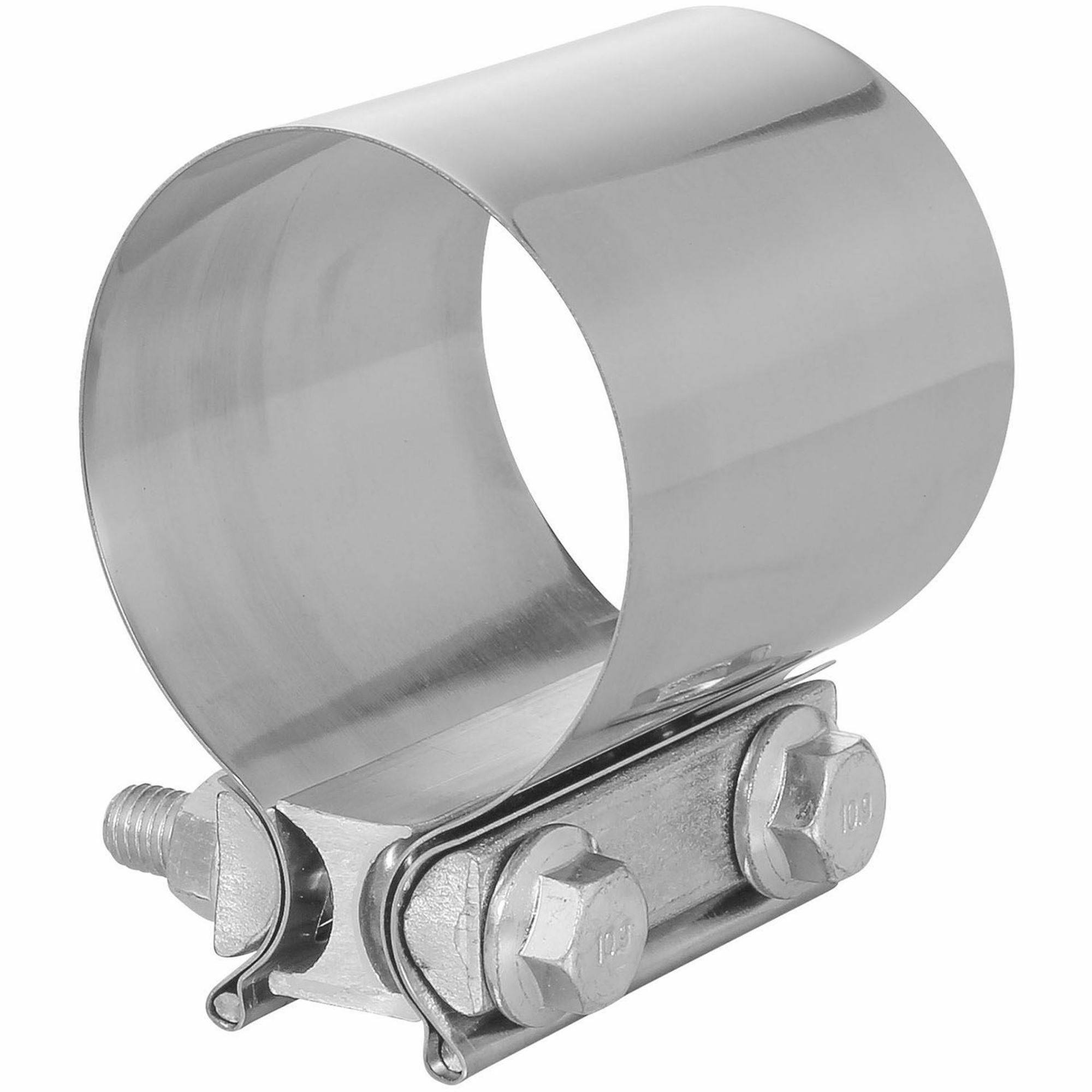 totalflow tf jb56 butt joint exhaust muffler clamp band 2 inch