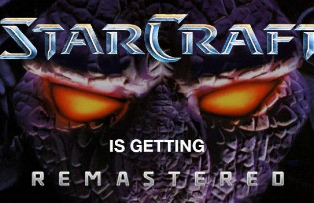 Blizzard Announces StarCraft: Remastered