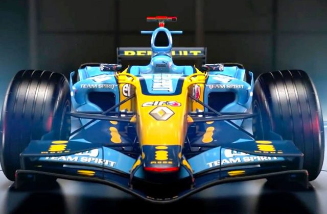 F1 2017 Classic Car Reveal – 2006 Renault R26