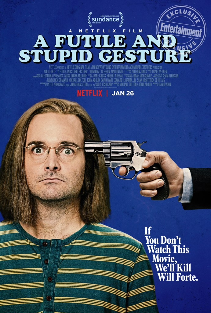 A Futile and Stupid Gesture Movie Cover