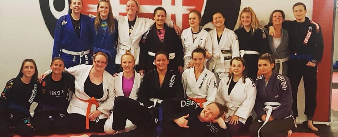 Ladies Only Brazilian Jiu Jitsu