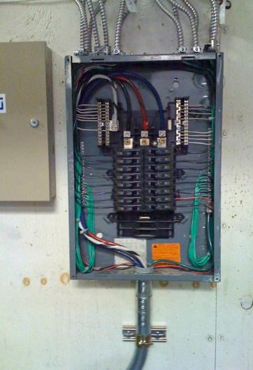 100 amp 3 phase Panel