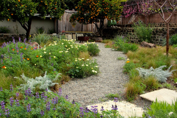 landscaping garden design How to create a wild, naturalistic style garden