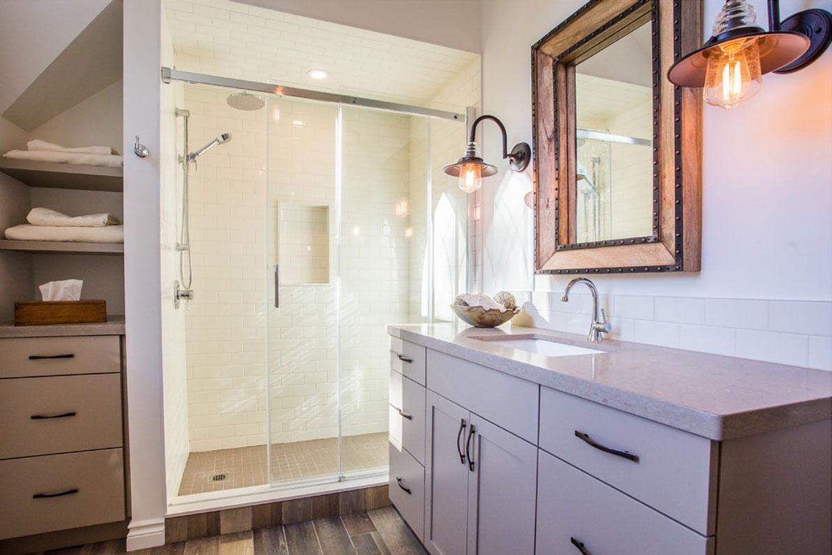Modern Farmhouse Bathroom - Total Living Concepts on Modern Farmhouse Bathroom  id=31290