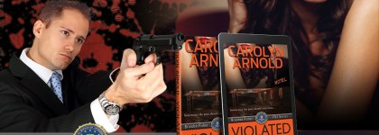 Book Tour with Review: Violated by Carolyn Arnold