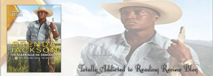 📚📚Review: The Marriage He Demands by Brenda Jackson