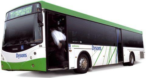 dysons bus