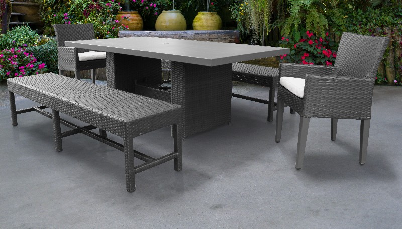 barbados rectangular outdoor patio