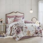 Madison Park Queen 8 Piece Cotton Printed Comforter Set In Blush Olliix Mp10 6164