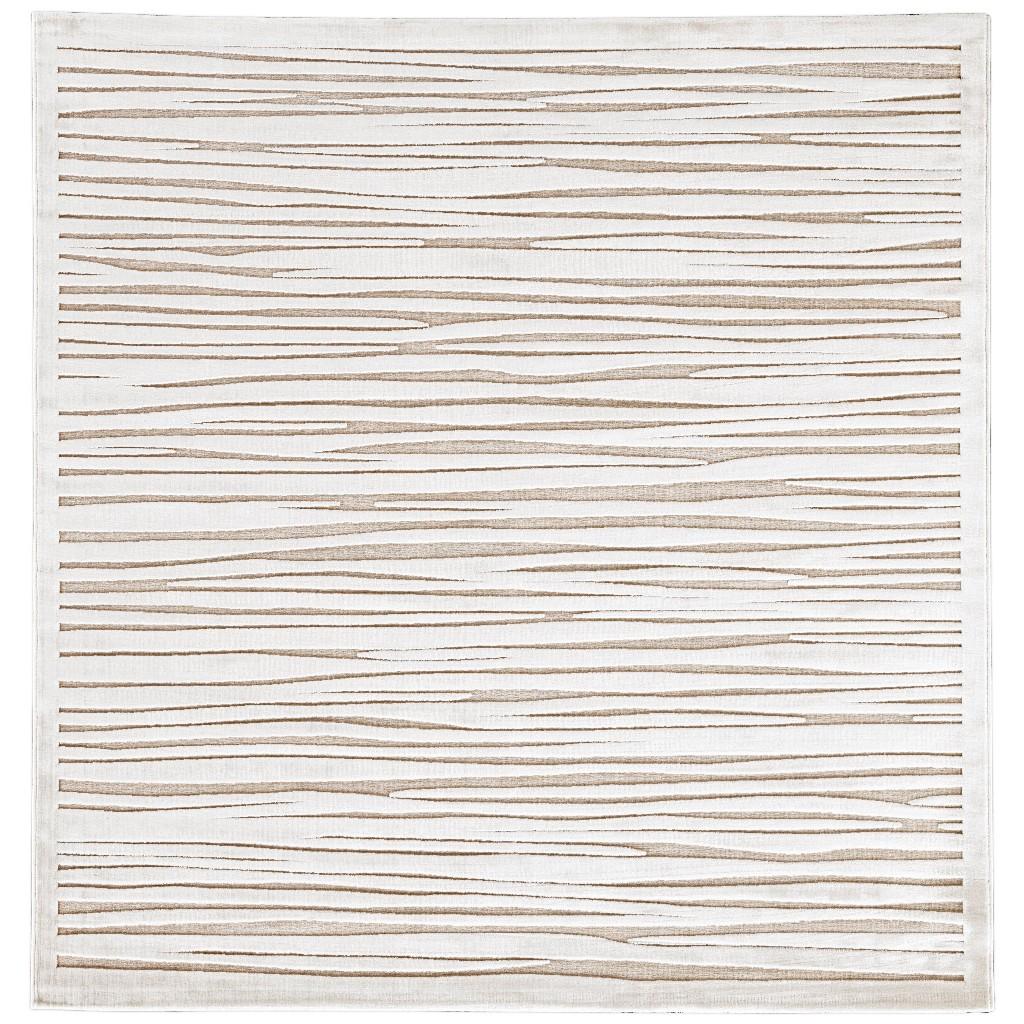 jaipur living linea abstract white
