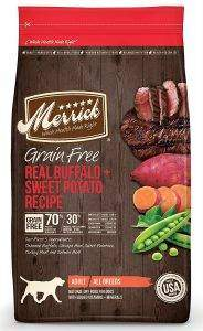 Merrick Grain-Free Real Buffalo + Sweet Potato Recipe Dry Dog Food