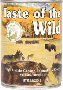 Taste of the Wild High Prairie Grain-Free Canned Dog Food