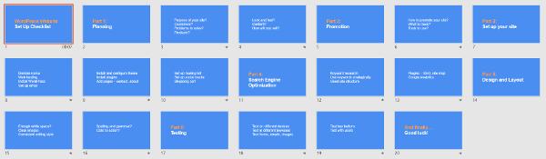 htiw checklist slides