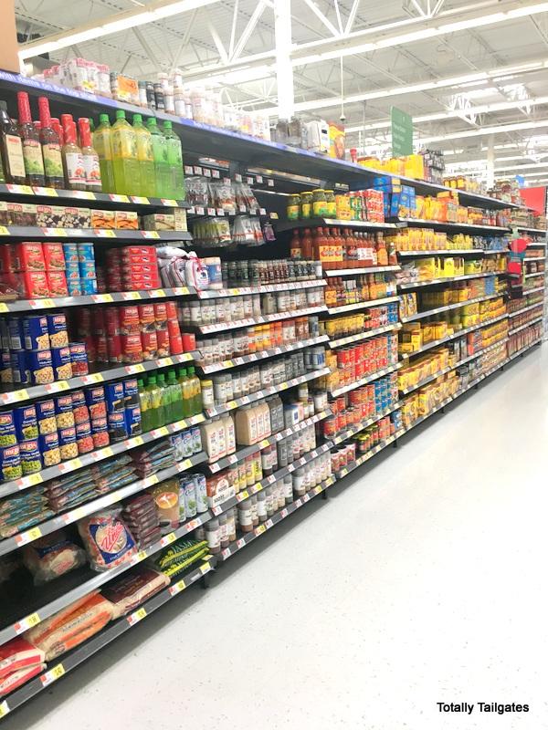 Walmart international aisle is my favorite!