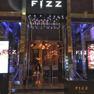FIZZ Las Vegas is a posh champagne bar inside Caesar's Palace.