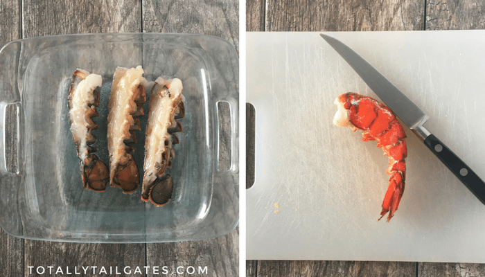 Baking lobster is really simple!