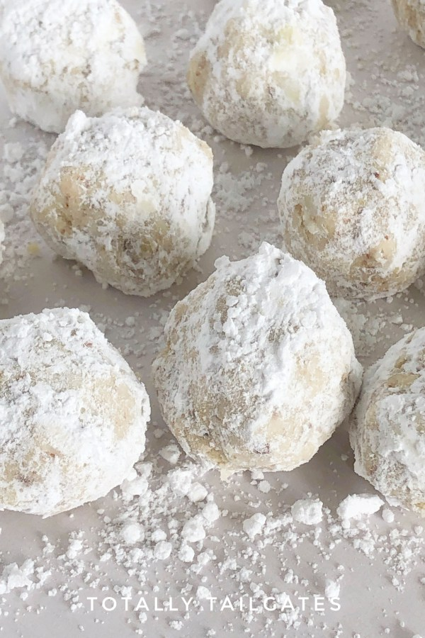 Italian Wedding Cookies.Italian Wedding Cookies A K A Snowball Cookies Totally Tailgates