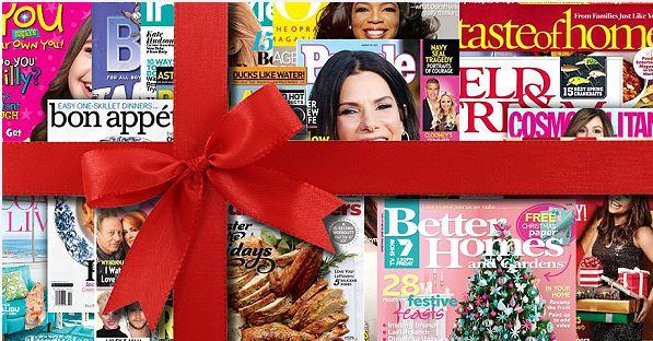 magazine gift ecard