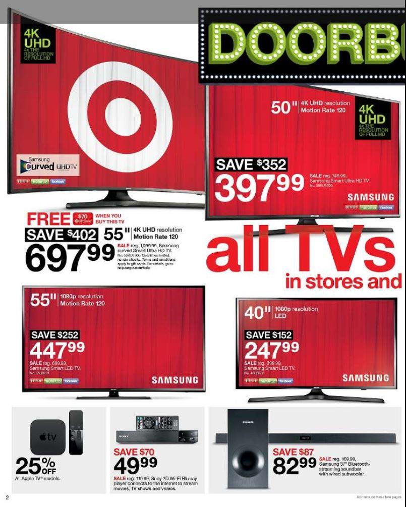 it s here target black friday ad preview 11 24 11 26. Black Bedroom Furniture Sets. Home Design Ideas