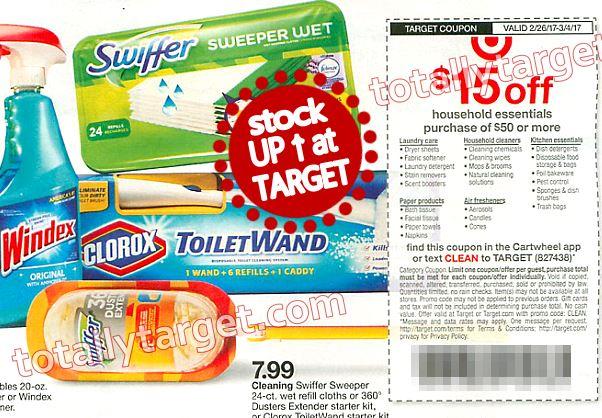 target coupon sale matchups
