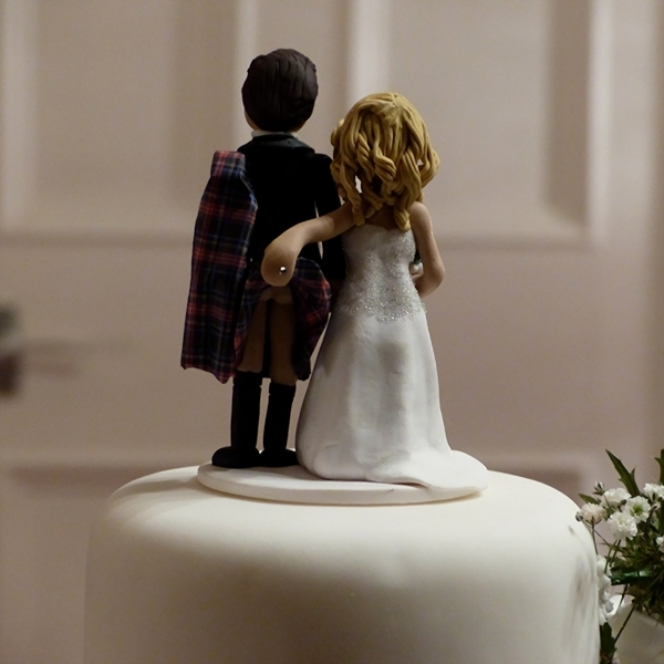wedding cake topper  raquo  Personalised Wedding Cake Toppers   Cake Figures   TotallyToppers com     cheeky cake topper