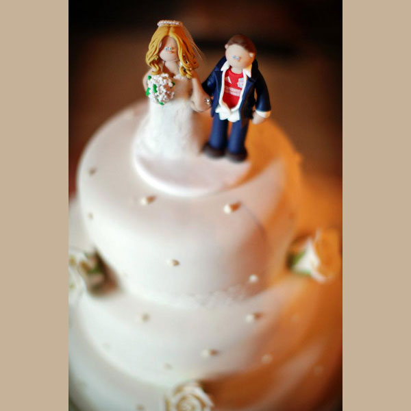 Wedding Cake Toppers On Their Cakes Totally