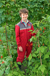 Lucas Hatch RHS Young School Gardener of the Year 2012