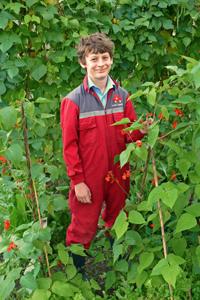 Lucas Hatch RHS Young School Gardener of the Year 2012