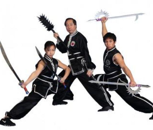 Picture Of Jow Ga Kung Fu Uniform W Double Trim