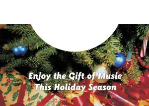 Christmas Tree Card Inside