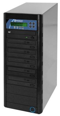 CopyWriter Series CD/DVD Tower 1-to-5 Duplicator