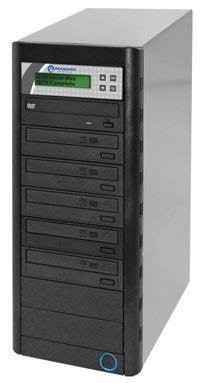 QD Economy Series CD/DVD Tower 1-to-5 Duplicator