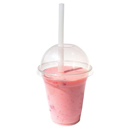 Lidded Disposable Smoothie Cup | Promotional Disposable ...