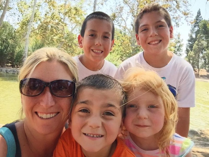 Total Mom Makeover Stacy Molter with Kids