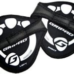 3 Pairs Gripad-weight Lifting & GYM Workout Grip Gloves (Black)