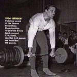 Lifting for Arnold @ 19. #health #fitness