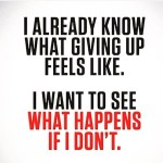 """""""What happens if I don't"""". Ever asked that question? Do you know a friend who does? Tag a friend that needs encouraging. Let us see what happens. #fitness #gym"""