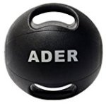 8 lb Double Grip Medicine Ball
