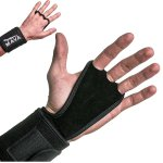 Mava Sports Hand Grips with Wrist Support Wraps for WODs, Pull Ups, Lifting, Kettlebell Exercise, Gym Workouts – Training Callus Guards & Palm Protectors