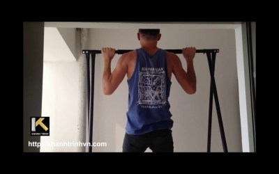 KT1 1520 Free Standing Pull Up Bar a Home Gym Workout Equipment
