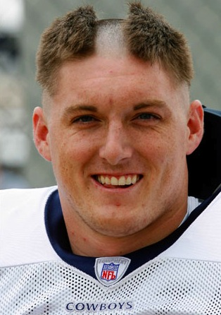Total Pro Sports 21 Awesome NFL Training Camp Hazing Hairdos