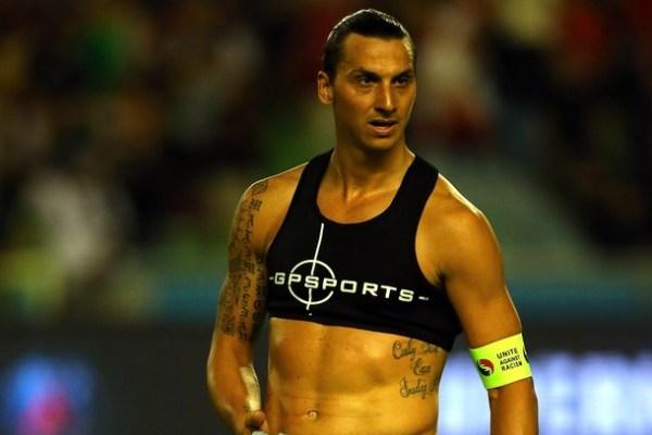 Zlatan Ibrahimovic is Wearing a Sports Bra (Pics) | Total ...