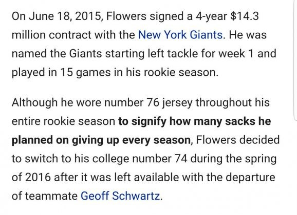 Image result for ereck flowers wikipedia page