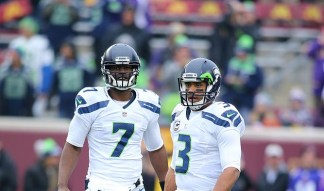 Russell Wilson Posts Heartbreaking Reaction To Former Seahawks Teammate Tarvaris Jackson's Death