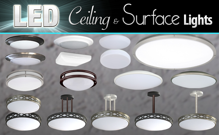 new led ceiling surface lights total recessed lighting blog