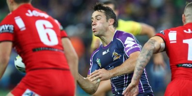Cooper Cronk was the man of the match. ©Action